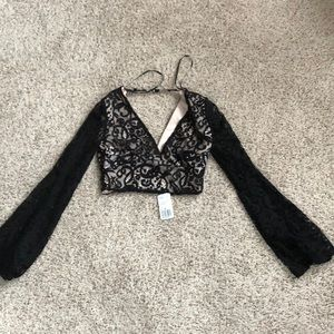 Forever 21 Lacey Crop